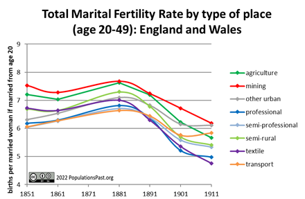 Total Marital Fertility Rate (TMFR)